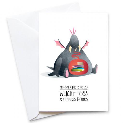 Monster-Diets-23-Card-Mark-Bird-Illustration