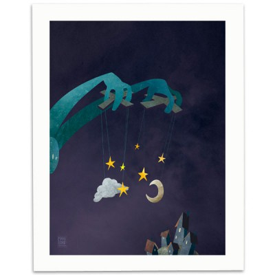 The-Night-Puppeteer-Print-Mark-Bird-Illustration