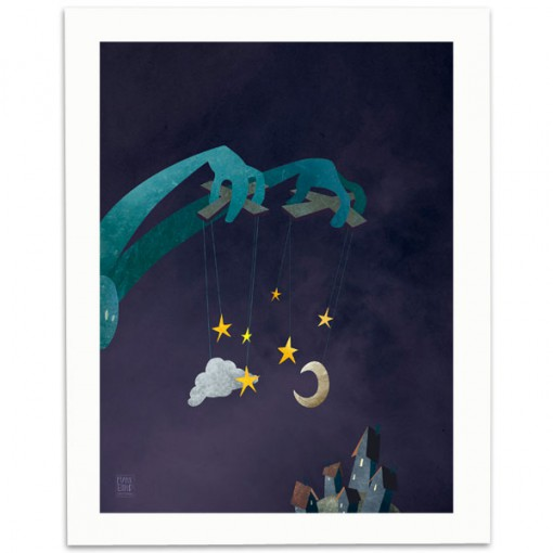 The-Night-Puppeteer-Print-Mark-Bird-Illustration