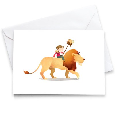 WA-Lion-Card-Mark-Bird-Illustration
