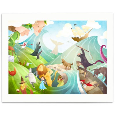 Waves-Of-Imagination-Print-Mark-Bird-Illustration