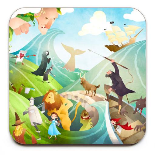 Waves-Of-Imagination-Coaster-Mark-Bird-Illustration