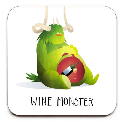 Wine-Monster-No.2-Coaster-Mark-Bird-Illustration