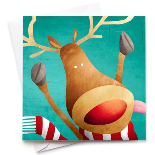 Rudolph-Card-Mark-Bird-Illustration