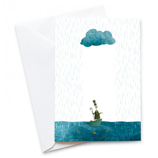 MB-Looks-Like-Rain-Card-Mark-Bird-Illustration