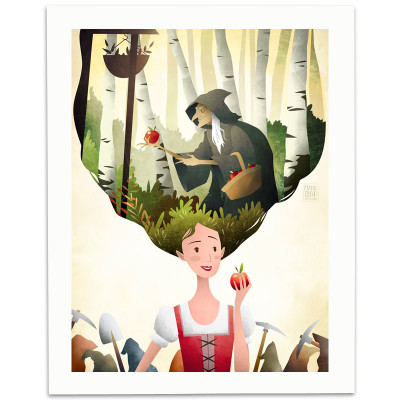 Snow-White-Print-Mark-Bird-Illustration