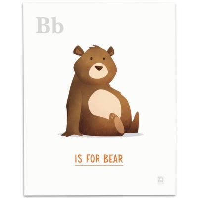 ABC-Animal-Alphabet-Print-B-Mark-Bird-Illustration
