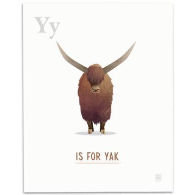 ABC-Animal-Alphabet-Print-Y-Mark-Bird-Illustration