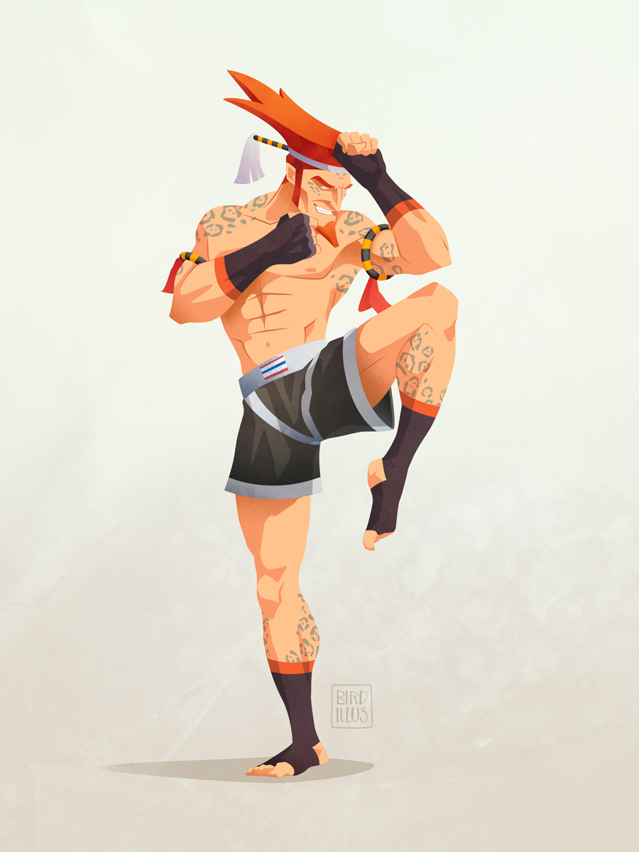 Street Fighter Adon - Character Design Challenge