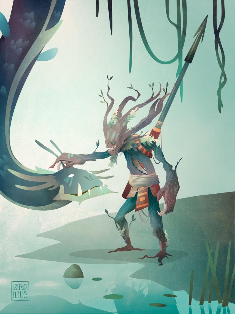 Dragonrider - Character Design Challenge