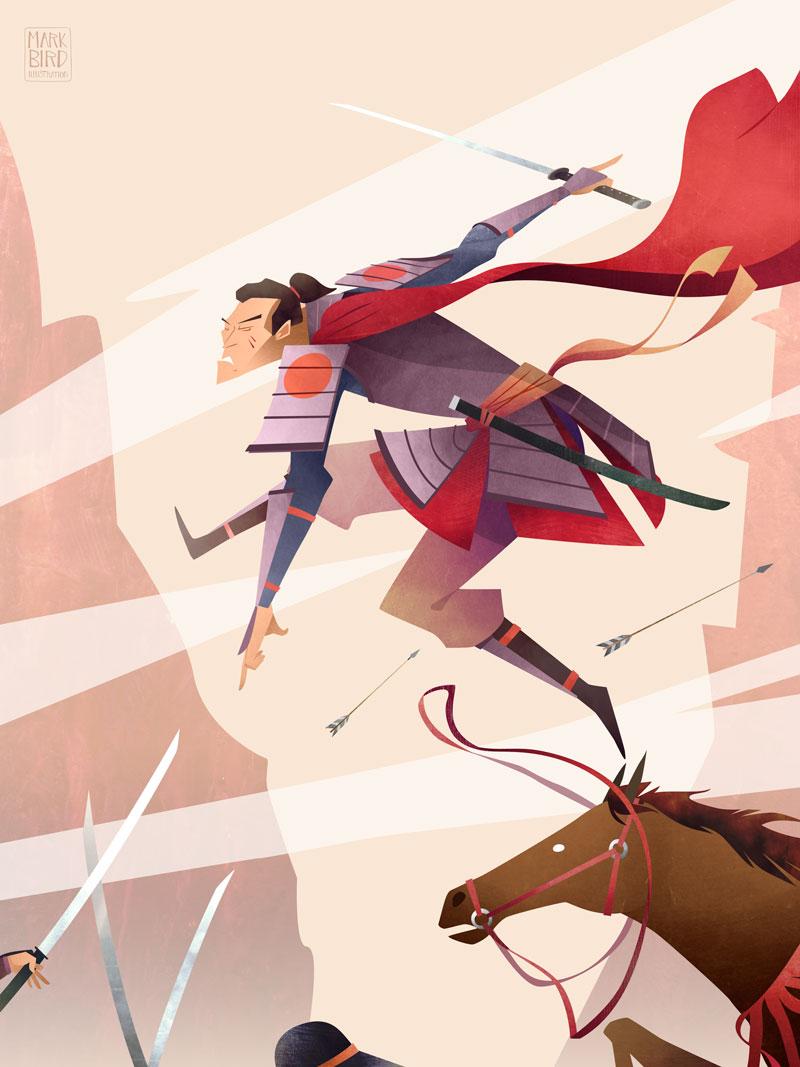 Samurai - Character Design Challenge