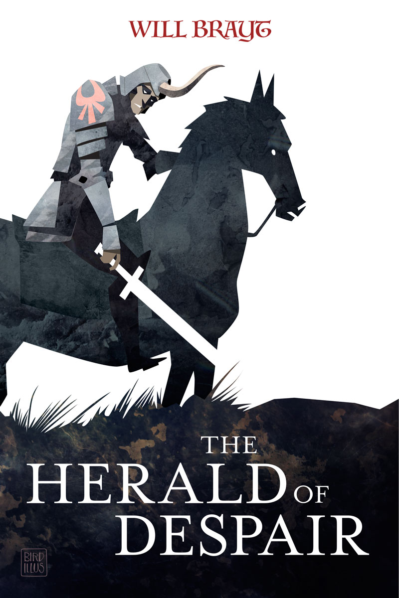 The Herald Of Despair - Fantasy Cover Illustration