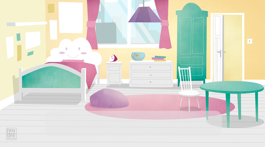 Bedroom - Cbeebies Storytime App