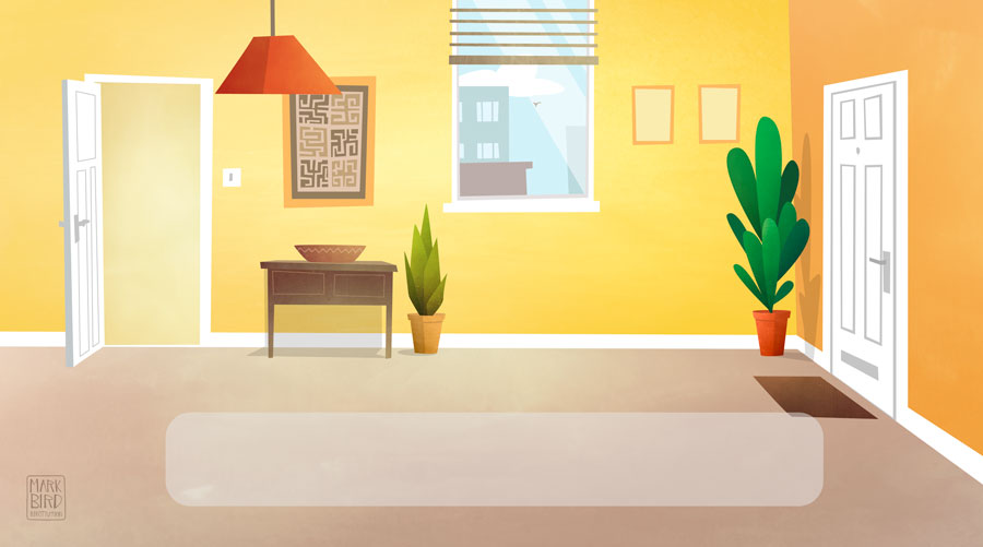 Hallway - Cbeebies Storytime App