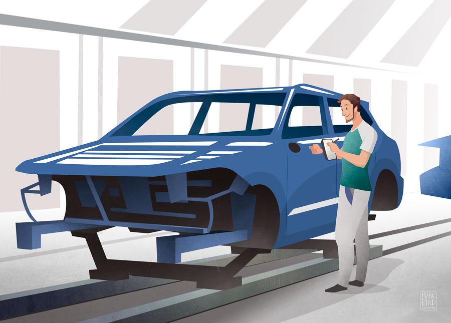 VW Workers - Paintshop - Volkswagen