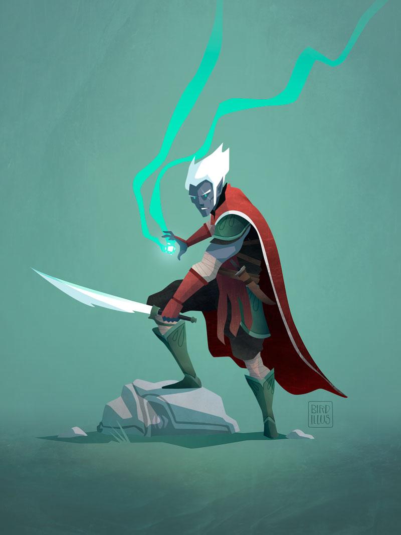 Elf Warrior - Character Design Challenge