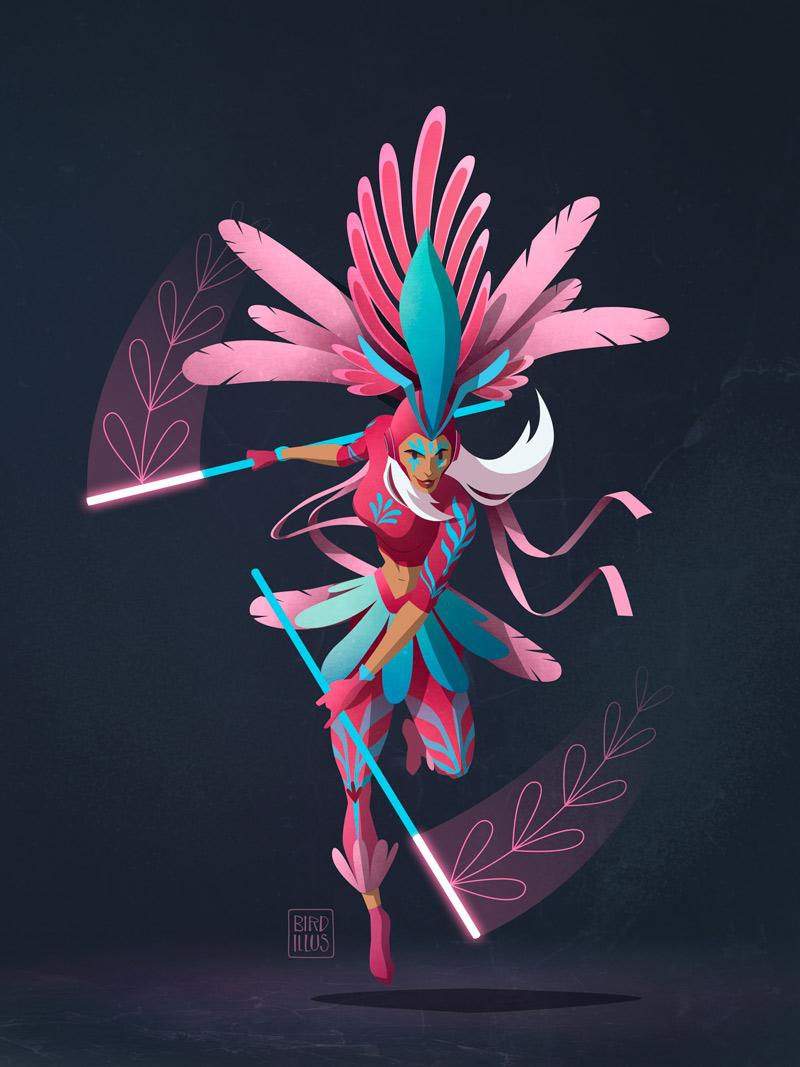 Carnival Of Brazil - Character Design Challenge