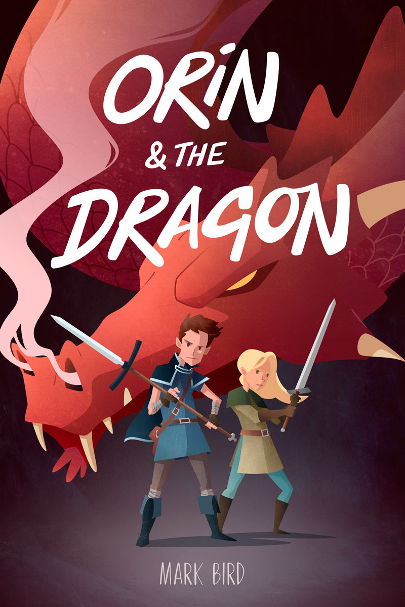 Orin and the Dragon - Children's Book Cover