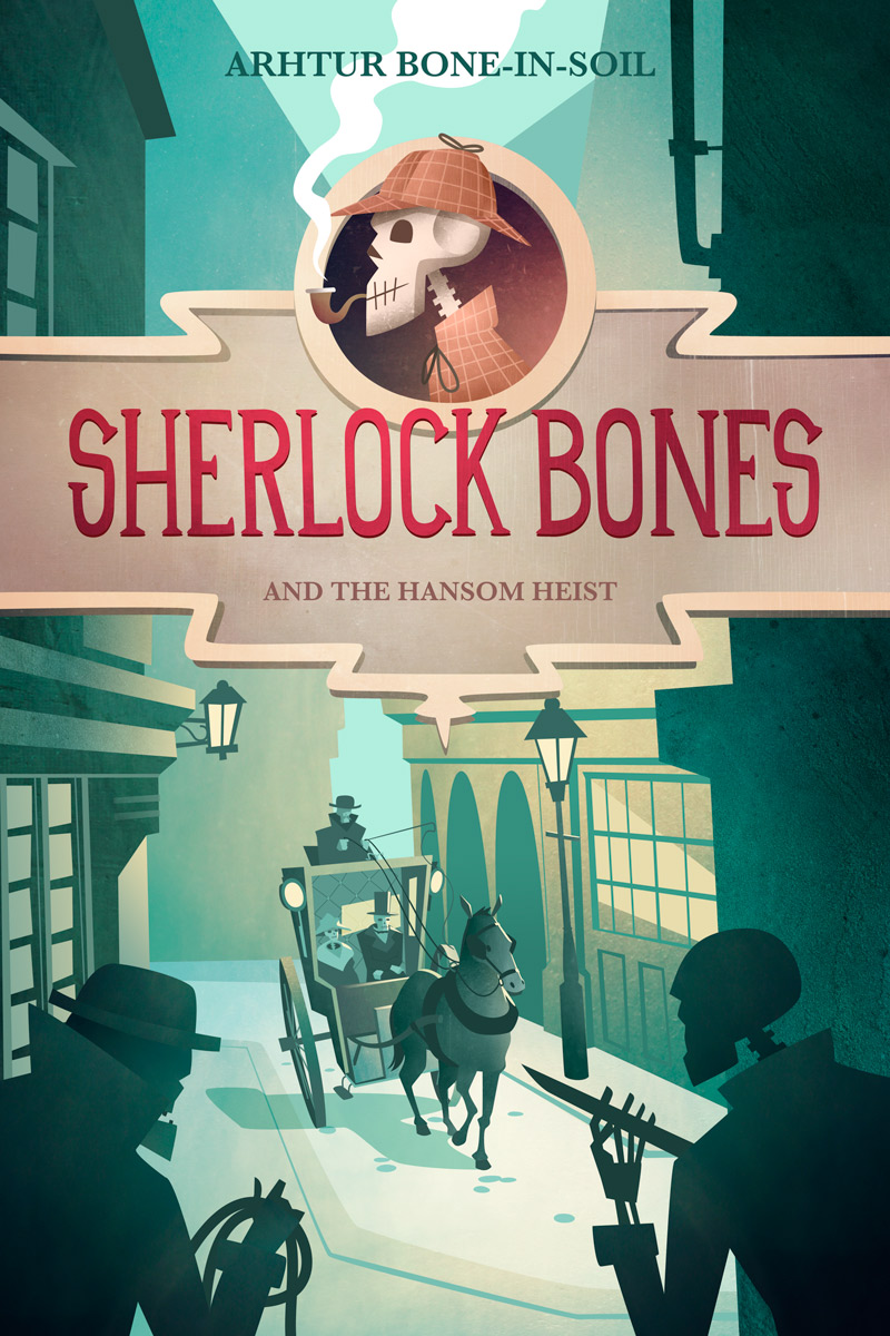 Sherlock Bones - Children's Book Cover