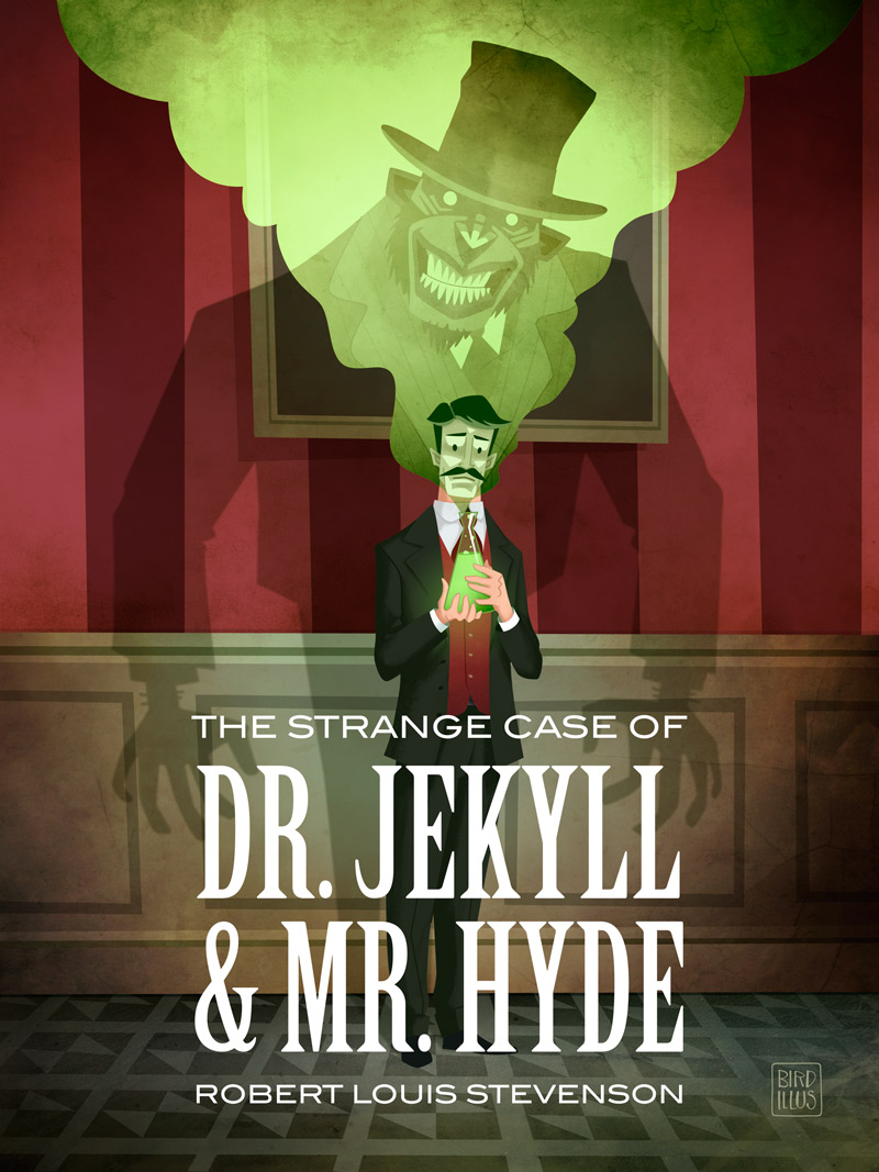 Dr. Jekyll And Mr. Hyde - Children's Book Cover